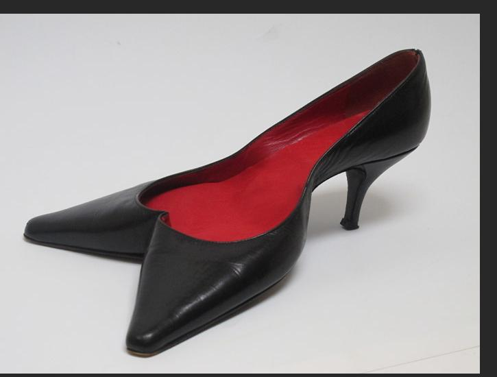 Howard Jones -  High Heel 2013 leather, fabric 4 x 7 x 10 inches