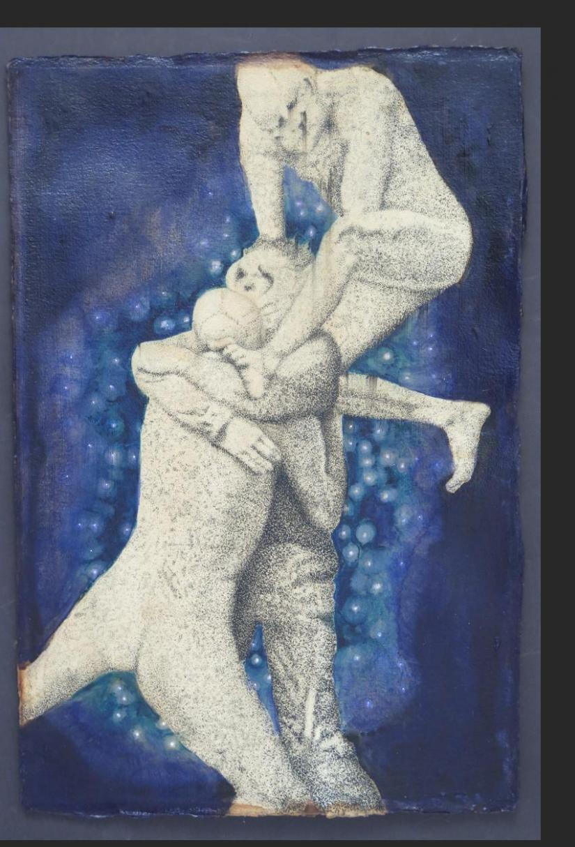 Charles Benefiel, Do Not Go Gently Into That Dark Night. And Then I Found That All Is Dream, 22.5 x 15 in. 2019, $5500.