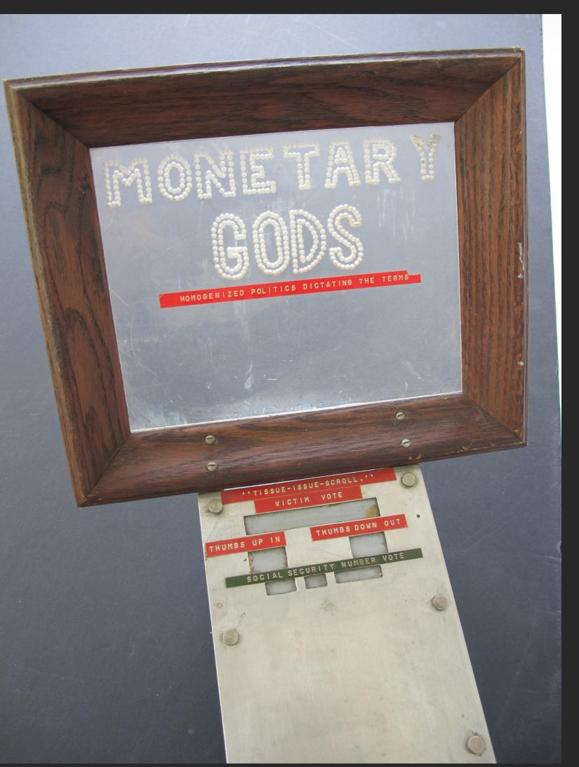 Nagrodski - Voting Machine Monetary Gods