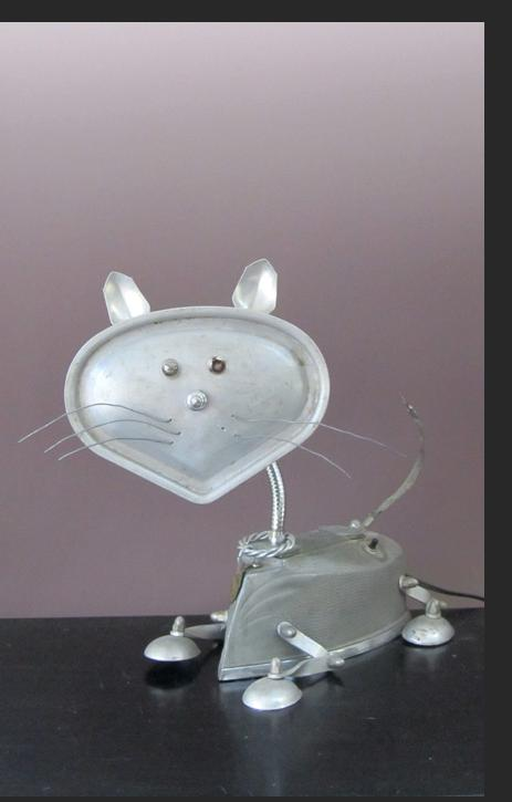 Steam Iron Kitty by Jim Bauer